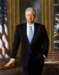 Bill Clinton - on nie potrzebuje bloga, żeby ludzie go znali